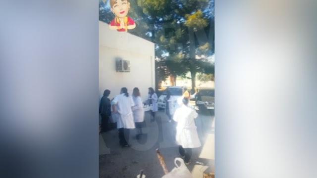 Γιατροί και νοσηλευτές «έστησαν» κορωνοπάρτι την Τσικνοπέμπτη στο Κέντρο Υγείας Γαλατά (βίντεο)