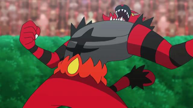 Incineroar Ash