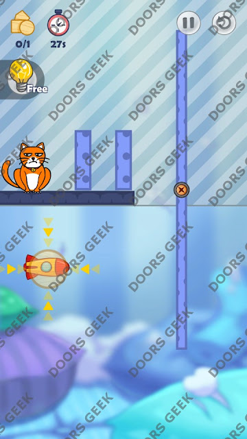 Hello Cats Level 12 Solution, Cheats, Walkthrough 3 Stars for Android and iOS