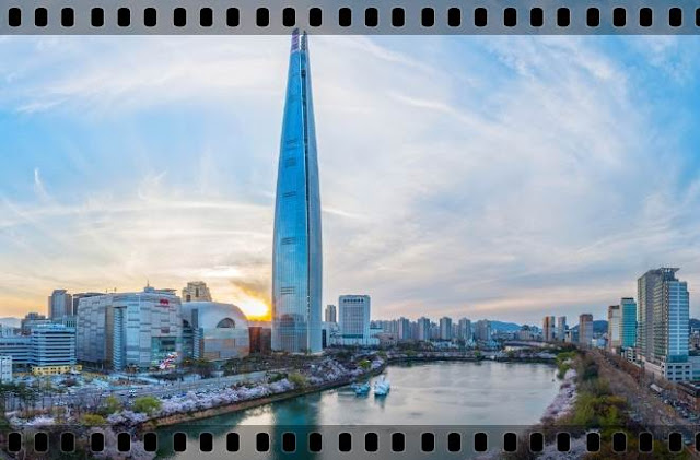 impresii cel mai inalt turn din coreea lotte world tower