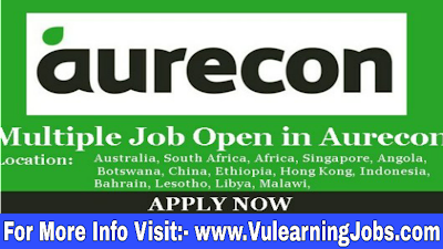 Aurecon Career & Jobs 2019 In Worldwide