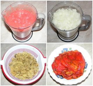 retete cu vinete ceapa rosii si ardei capia, retete culinare, retete cu legume, preparate din legume,