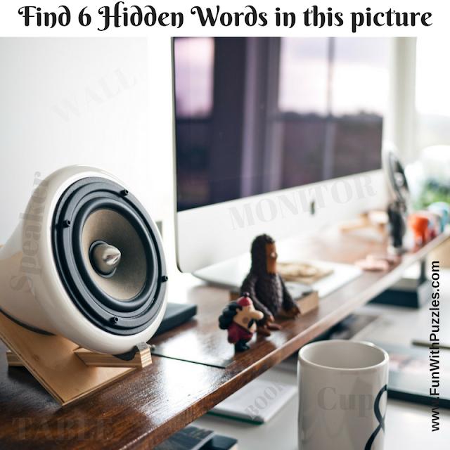 Hidden Words Brain Teaser