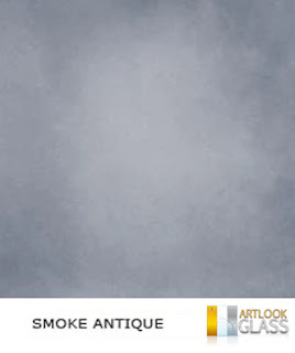 Smoke Antique Style Mirrors