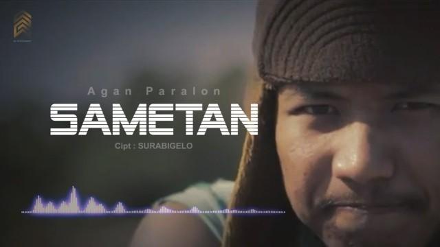 Lirik Sametan Agan Paralon