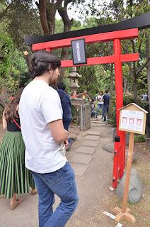 Torii en Asosiación México Japonesa en Haru Matsuri 2018