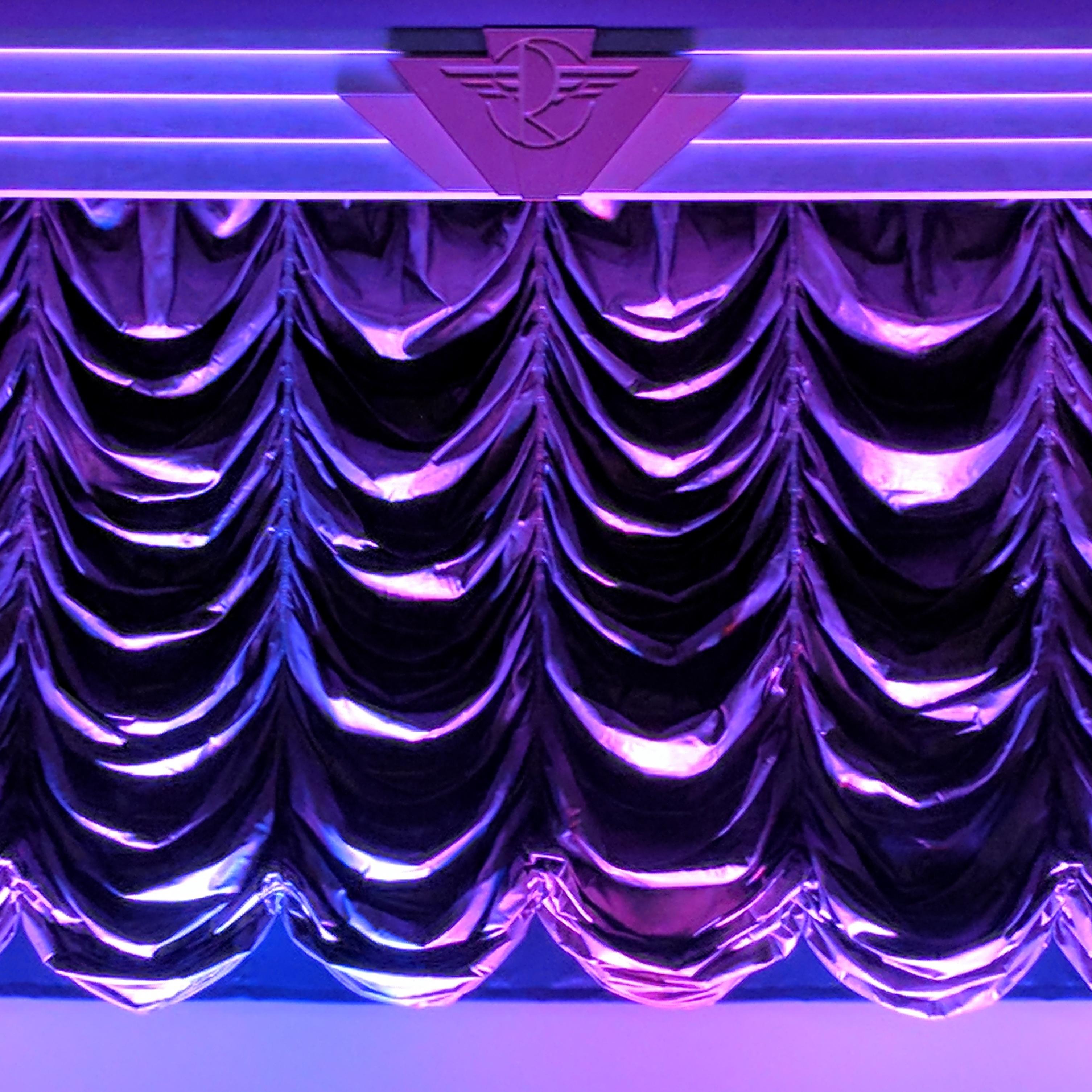 The Roxy Cinemas gorgeous Austrian curtain