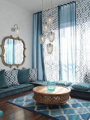 Pilihan Desain Ruang Tamu Minimalis Tanpa Sofa, Unik Lho!