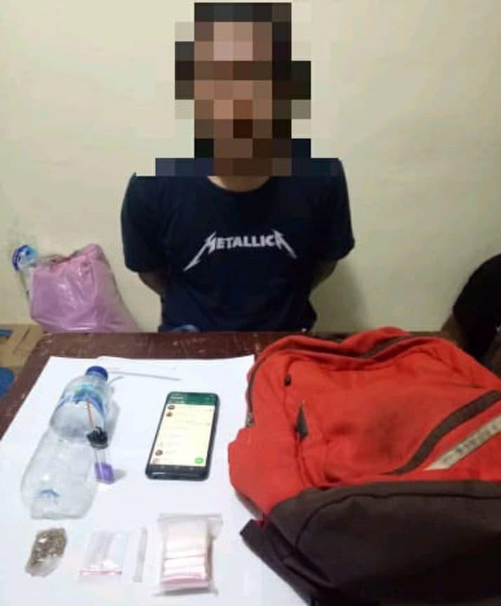 Hendak Lakukan Transaksi Narkoba, 2 Pria Dibekuk Sat Resnarkoba Polres Mimika