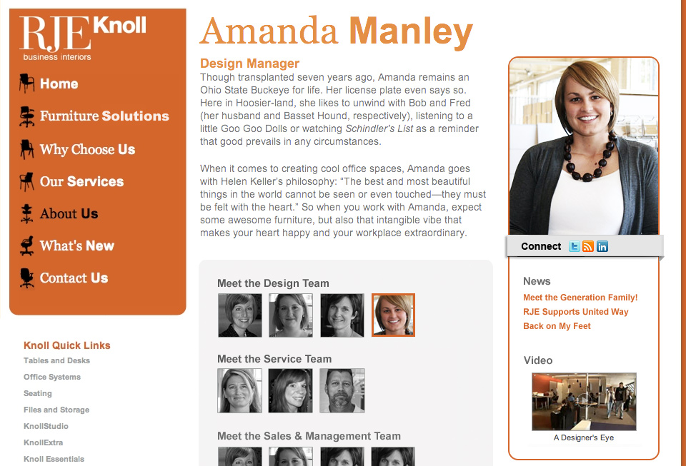 staff biography template meet the team quot pages examples and ...