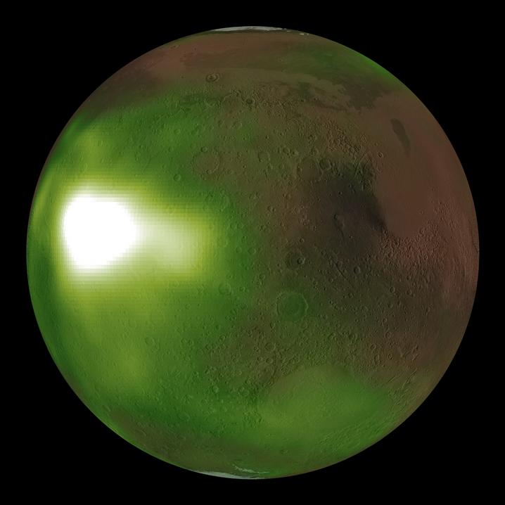 Ultraviolet Mars