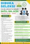 Baitul Mal Aceh Terima Anggota Baru, Ini Syarat dan Jadwal Seleksinya!