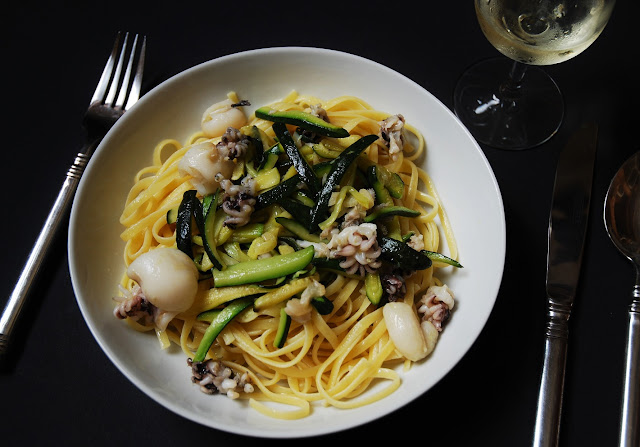 Linguine-courgettes-seiches