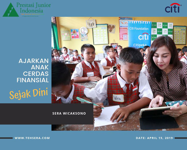 prestasi junior ajarkan anak cerdas finansial sejak dini