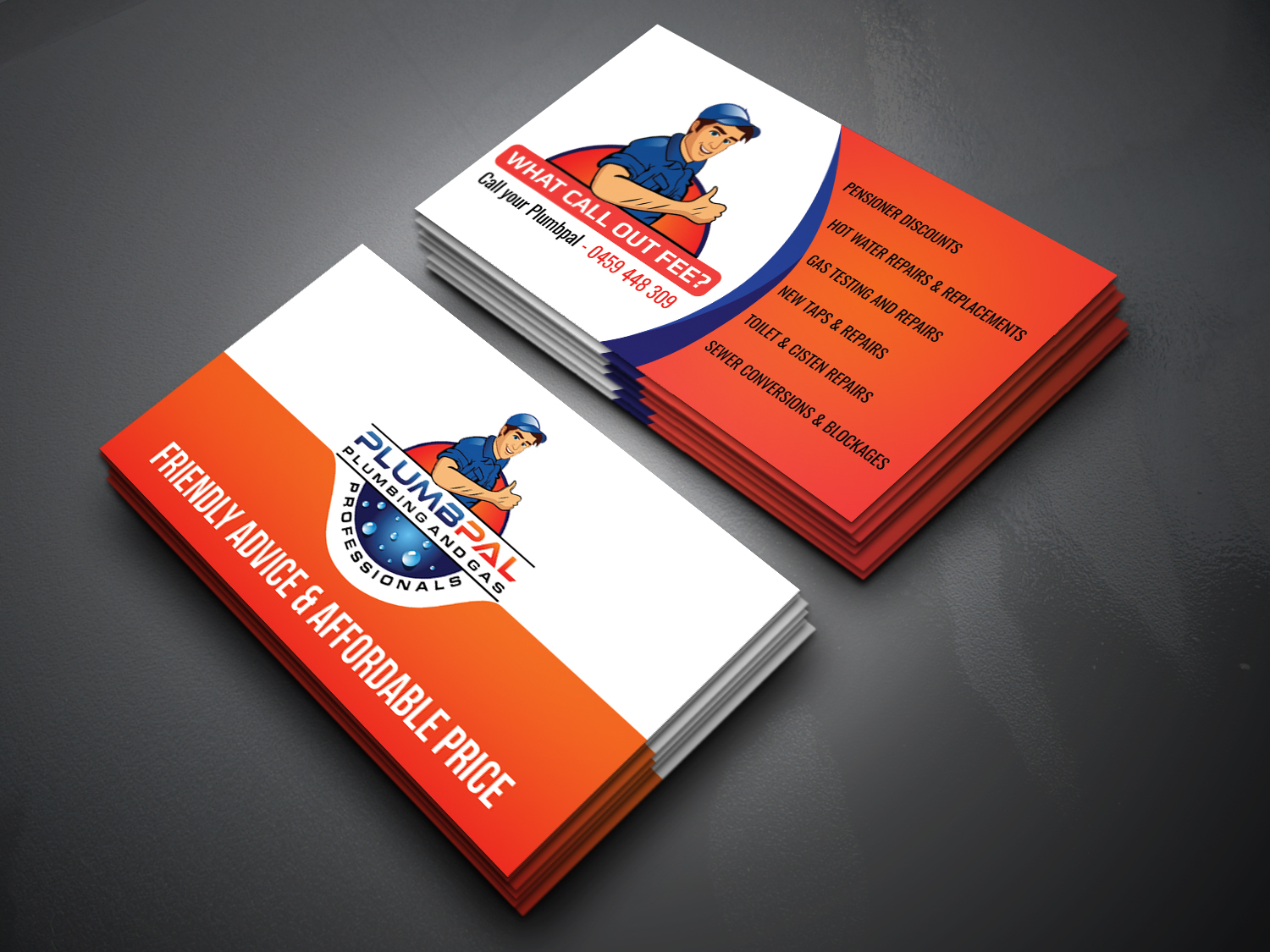 Business Card for Sample | aung ching - SEO & GRAPHICS DESIGNER