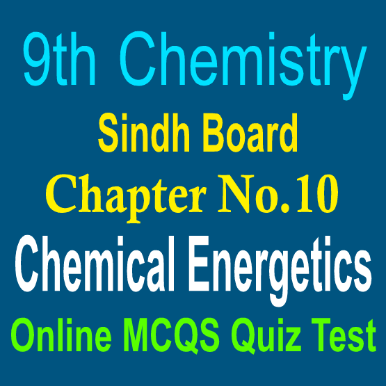 Chemistry Sindh Board Notes