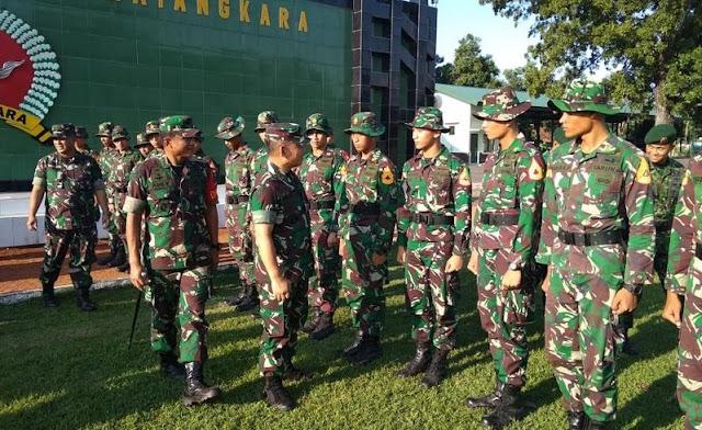 Gubernur Akademi Militer Kunjungi OJT Taruna di Yonif PR 503 Kostrad di Mojokerto