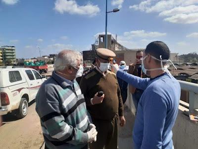 محافظ كفرالشيخ يتابع إحكام السيطرة على نقاط التفتيش الثابتة والأكمنة الحدودية بدسوق