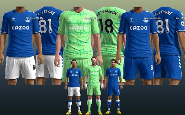 Pes 2013 Everton 20 21 Kits Kazemario Evolution