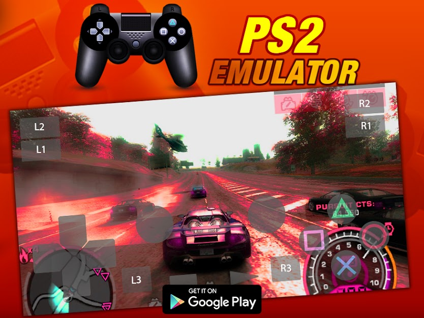 PS2 Emulator for Android-60 Fps+High Quality Graphics:No Lag