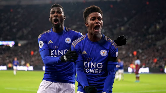 Video Cuplikan Gol: West Ham United 1-2 Leicester City (Premier League)
