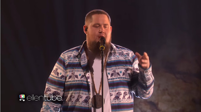 Rag'n'Bone Man Performs Human On Ellen Show