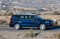 2012 all new Mercedes GL-class x166 luxury suv offroad official press photo