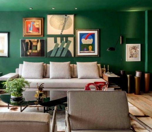Προσθέστε το σκούρο Πράσινο στους τοίχους του σπιτιού