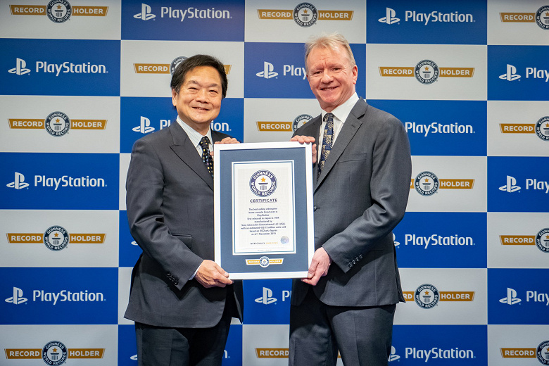 Sony PlayStation - in the Guinness Book of Records