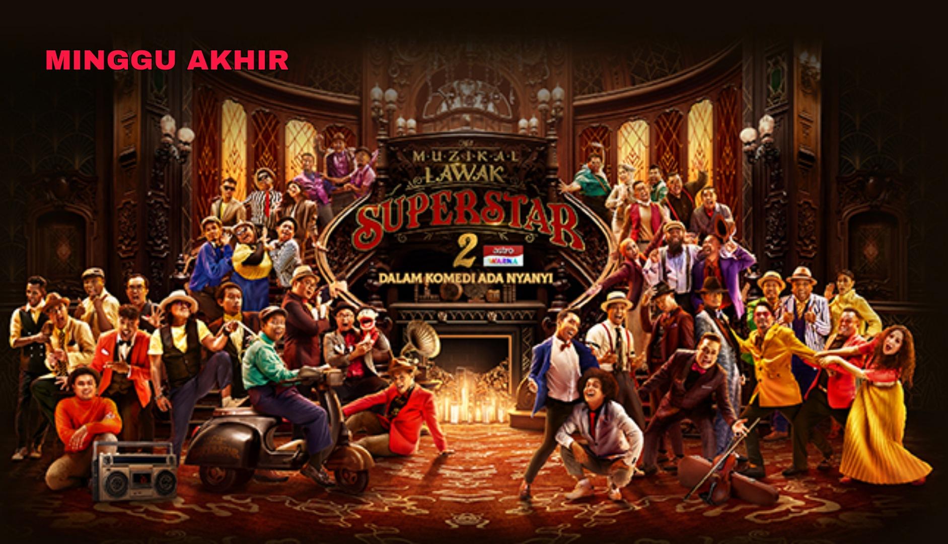 Live Streaming Muzikal Lawak Superstar 2020 Minggu 10 (Akhir)