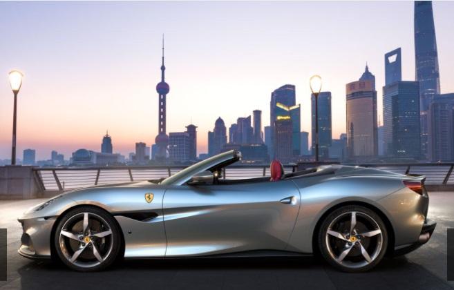 Ferrari Portofino M tampak dari samping