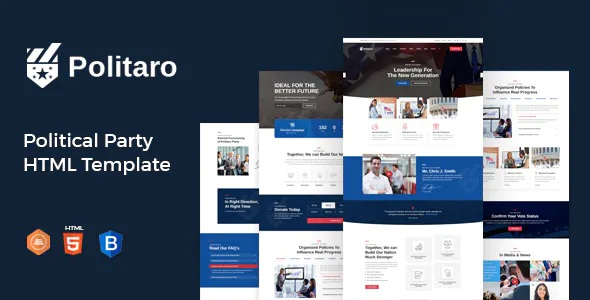 Best Political and Government HTML Template