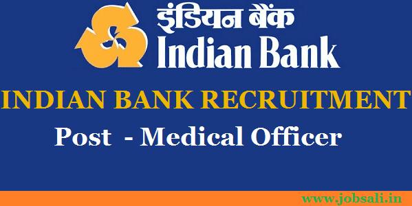 Indian Bank Career, Vacancy in bank, Latest Bank Jobs