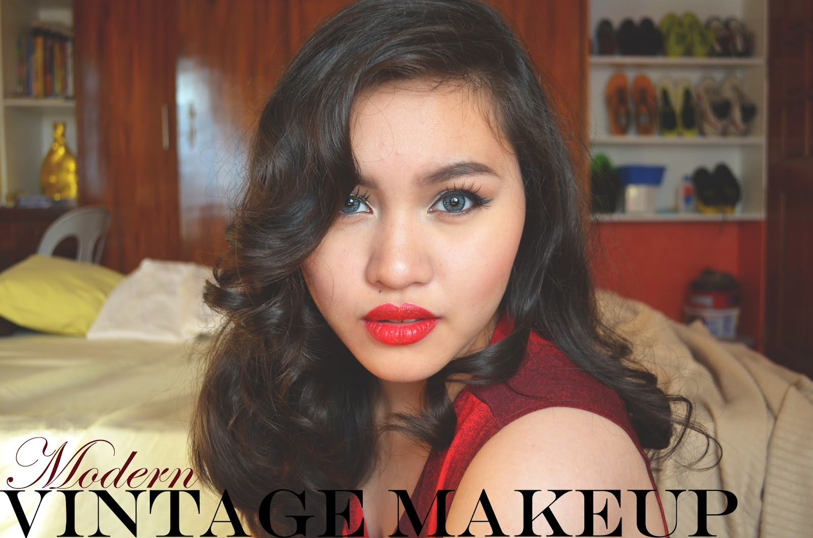 Beauty lifestyle omega this post will be an easy modern vintage retro makeup tutorial scroll down if you want to learn how to this makeup baditri Choice Image