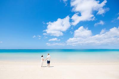沖縄 マタニティフォト ビーチ 海 写真撮影
