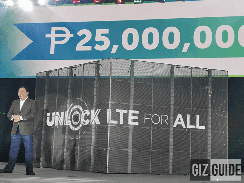 Smart is giving away PHP 25 Million in cash for their 25th anniversary!