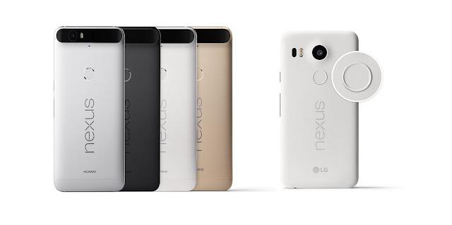 مؤتمر جوجل - سبتمبر - إطلاق نيكسوس Nexus 5X