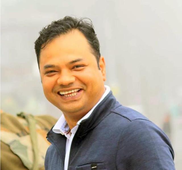পদস্থ  পুলিশ অফিসার দিগন্ত বরা স্বরাষ্ট্র সচিবের দায়িত্বে