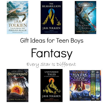 Fantasy: Gift Ideas for Teen Boys