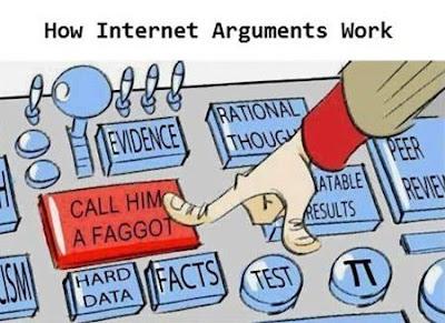 Wie man sich im Internet verhält witzig