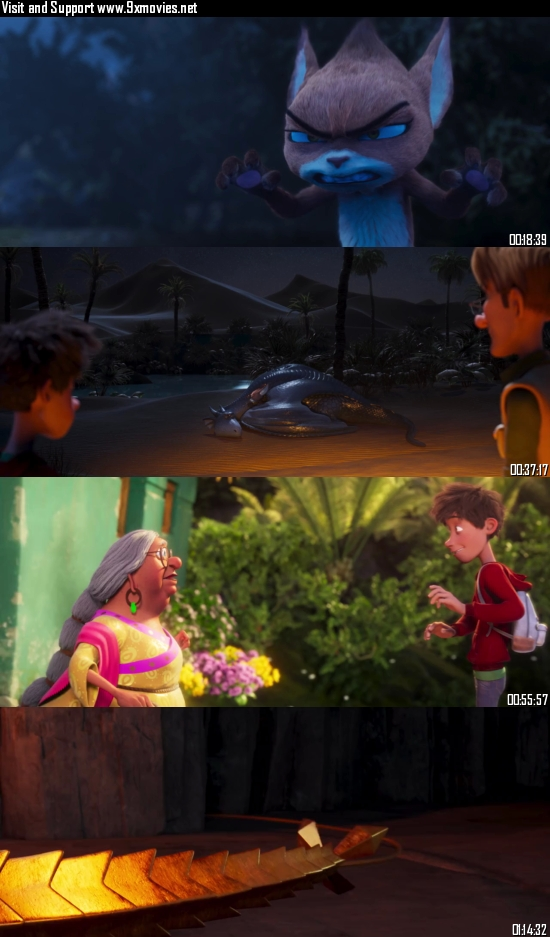 Firedrake The Silver Dragon 2021 Dual Audio Hindi 720p WEB-DL 750MB