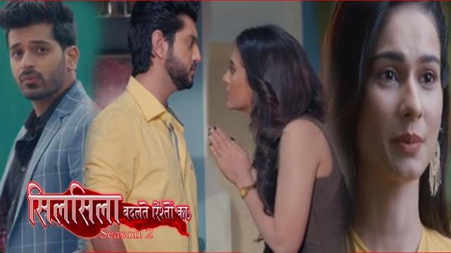 Latest Update : Mishti avoids Ruhaan chases Veer in Silsila Badalte Rishton Ka.