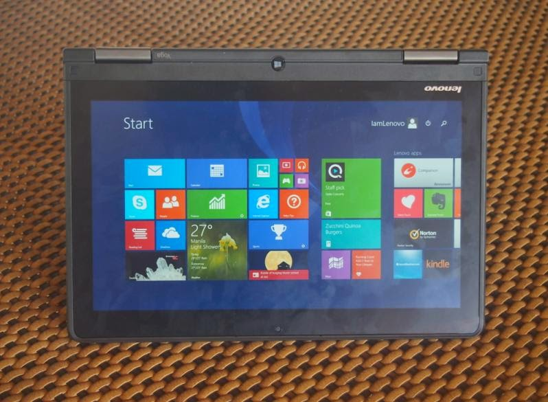 Lenovo ThinkPad Yoga Software