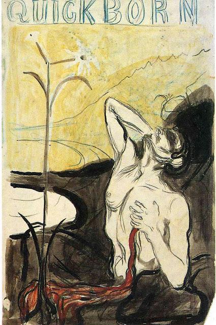Эдвард Мунк - Цветок боли. 1897