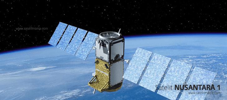 Inilah Daftar Frekuensi Satelit Nusantara 1