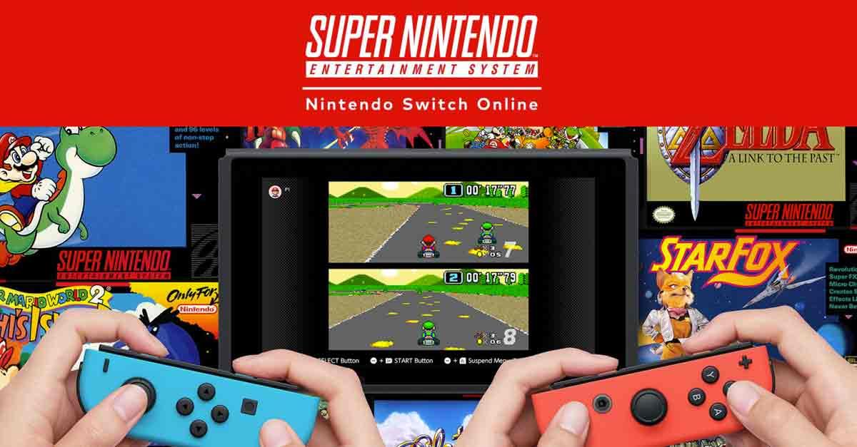 Il Super Nintendo arriva su Nintendo Switch Online: ecco come avere l'abbonamento gratis