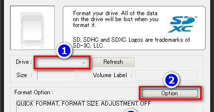 SDFORMATTER 4.0 FOR SD/SDHC/SDXC УТИЛИТЫ СКАЧАТЬ БЕСПЛАТНО