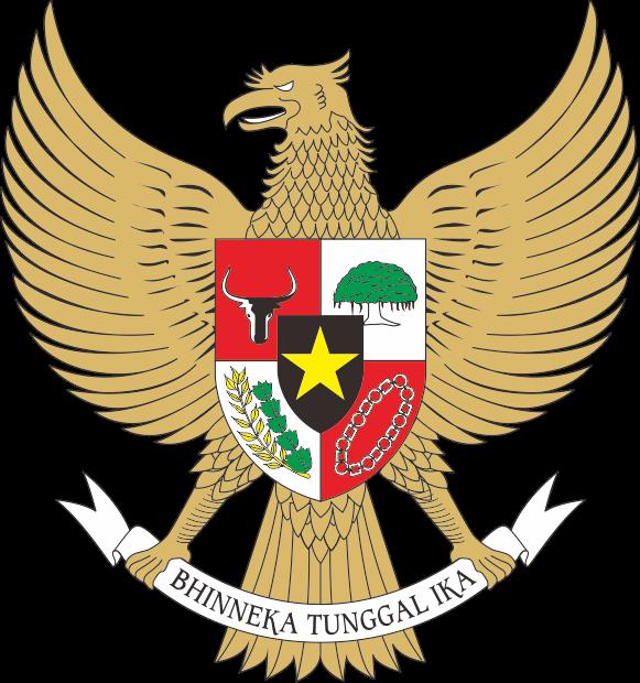 logo garuda pancasila gambar logo