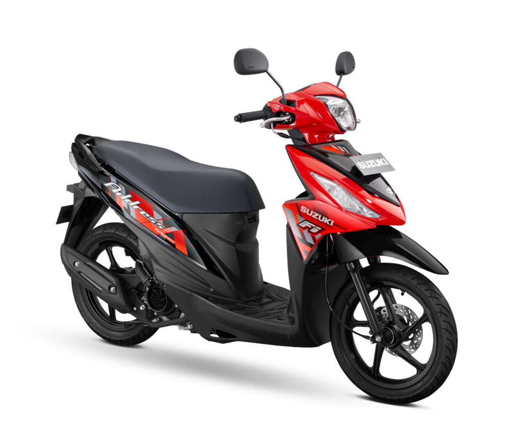 Suzuki Address FI Cerahkan Hari dengan Warna Terkini 2020
