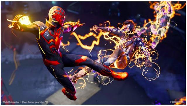 Captured on Spider-Man: Miles Morales PS 5